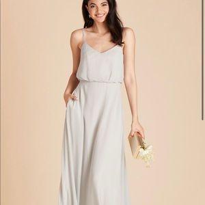 Dove grey ( light grey ) sz M dress